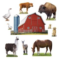 TREND ENTERPRISES ANIMALS ON THE FARM BB SET