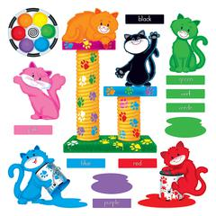 TREND ENTERPRISES CURIOUS COLOR CATS BB SET