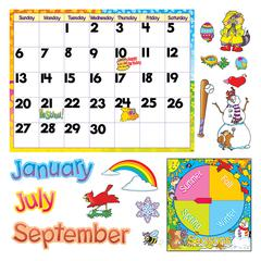 TREND ENTERPRISES BB SET MONTHLY CALENDAR CLING PCS