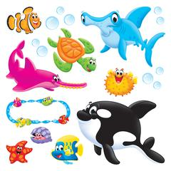 TREND ENTERPRISES SEA BUDDIES BULLETIN BOARD SET