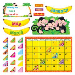 TREND ENTERPRISES MONKEY MISCHIEF CALENDAR BB SET
