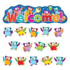 TREND ENTERPRISES OWL STARS WELCOME BB SET