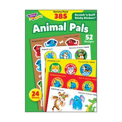 STINKY STICKR VARIETY PK ANIMAL PAL SCRATCH N SNIFF