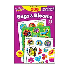 STNKY STICKR VARIETY PK BUGS BLOOMS SCRATCH N SNIFF