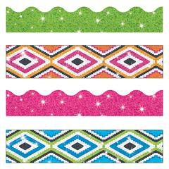 TREND ENTERPRISES AZTEC SPARKLE BORDER VARIETY PACK