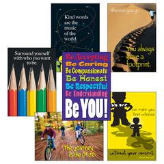 THINK POSITIVELY SET LPS LARGE POSTER SETS