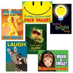ATTITUDE & SMILES COMBO SETS ARGUS POSTERS