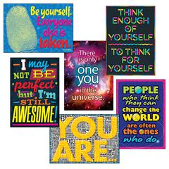 TREND ENTERPRISES SELF ESTEEM ARGUS POSTER COMBO PACK
