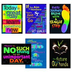 TREND ENTERPRISES THINK & INSPIRE ARGUS POSTER COMBO PACK