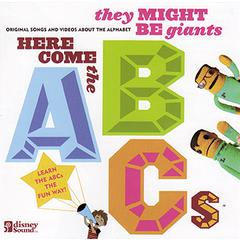 HERE COMES THE ABCS CD/DVD SET BY THEY MIGHT BE GIANTS