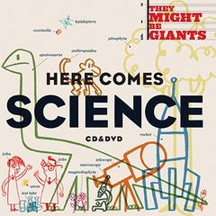 FLIPSIDE HERE COMES SCIENCE CD/DVD SET BY THEY MIGHT BE GIANTS
