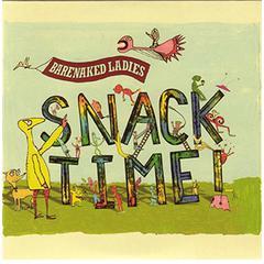 FLIPSIDE BARENAKED LADIES SNACK TIME CD