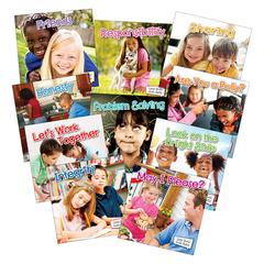 TEACHER CREATED RESOURCES LITTLE WORLD SOCIAL SKILLS 10 BOOK SET