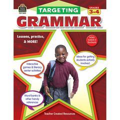 TEACHER CREATED RESOURCES TARGETING GRAMMAR GR 3-4