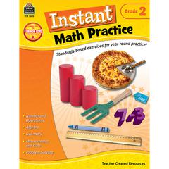 TEACHER CREATED RESOURCES INSTANT MATH PRACTICE GR 2