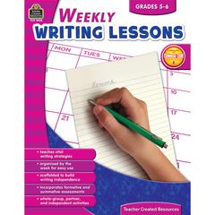 TEACHER CREATED RESOURCES WEEKLY WRITING LESSONS GR 5-6