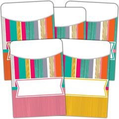 TROPICAL PUNCH LIBRARY POCKETS MULTI PACK