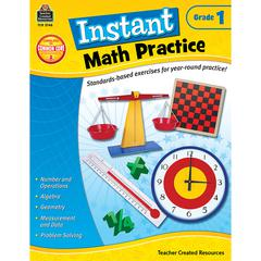 TEACHER CREATED RESOURCES INSTANT MATH PRACTICE GR 1