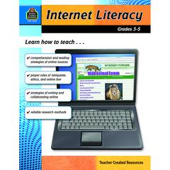 TEACHER CREATED RESOURCES INTERNET LITERACY GR 3-5