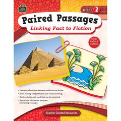 TEACHER CREATED RESOURCES PAIRED PASSAGES LINKING FACT TO FICTION GR 2