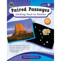 TEACHER CREATED RESOURCES PAIRED PASSAGES LINKING FACT TO FICTION GR 4