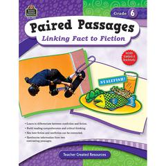 TEACHER CREATED RESOURCES PAIRED PASSAGES LINKING FACT TO FICTION GR 6
