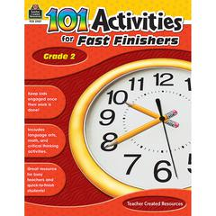 TEACHER CREATED RESOURCES GR 2 101 ACTIVITIES FOR FAST FINISHERS