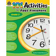 TEACHER CREATED RESOURCES GR 3 101 ACTIVITIES FOR FAST FINISHERS