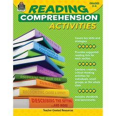 TEACHER CREATED RESOURCES GR 3-4 READING COMPREHENSION ACTIVITIES
