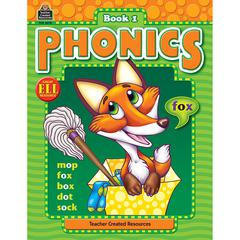 TEACHER CREATED RESOURCES PHONICS BOOK 1