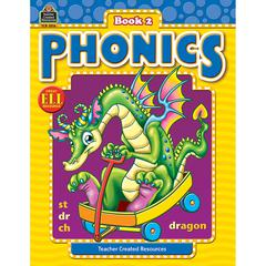 TEACHER CREATED RESOURCES PHONICS BOOK 2
