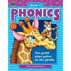 TEACHER CREATED RESOURCES PHONICS BOOK 3