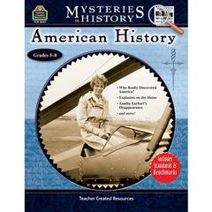 TEACHER CREATED RESOURCES MYSTERIES IN HISTORY AMERICAN