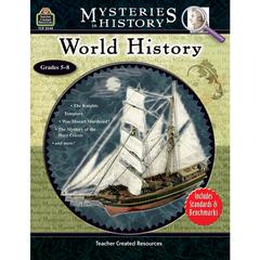 TEACHER CREATED RESOURCES MYSTERIES IN HISTORY WORLD HISTORY