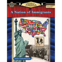 TEACHER CREATED RESOURCES SPOTLIGHT ON AMERICA A NATION OF IMMIGRANTS GR 5-8