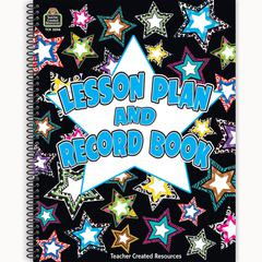 TEACHER CREATED RESOURCES FANCY STARS LESSON PLAN & RECORD BOOK