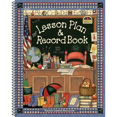 TEACHER CREATED RESOURCES SW LESSON PLAN AND RECORD BOOK