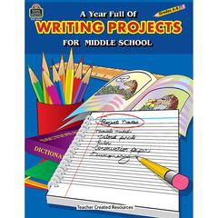 TEACHER CREATED RESOURCES A YEAR FULL OF WRITING PROJECTS MIDDLE SCHOOL