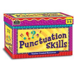 TEACHER CREATED RESOURCES PUNCTUATION SKILL CARDS GR 3-5