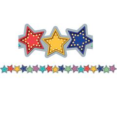 MARQUEE STARS DIE CUT BORDER TRIM
