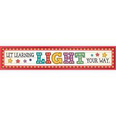 MARQUEE LRNING LGHT YOUR WAY BANNER