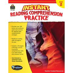INSTANT READING GR 2 COMPREHENSION PRATICE