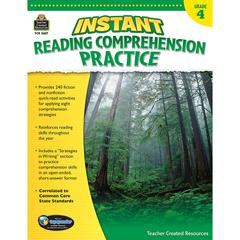 INSTANT READING GR 4 COMPREHENSION PRATICE
