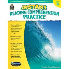 INSTANT READING GR 6 COMPREHENSION PRATICE