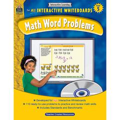 INTERACTIVE LEARNING GR 5 MATH WORD PROBLEMS