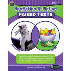 TEACHER CREATED RESOURCES NONFICTION FICTION PAIRED TEXTS GR4