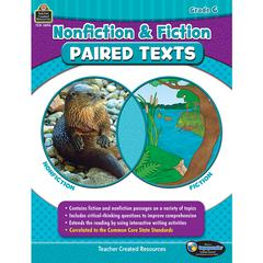 TEACHER CREATED RESOURCES NONFICTION FICTION PAIRED TEXTS GR6