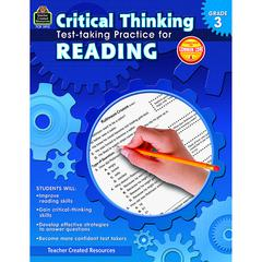 TEACHER CREATED RESOURCES GR 3 CRITICAL THINKING TEST TAKING PRACTICE FOR READING