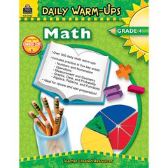 TEACHER CREATED RESOURCES DAILY WARM-UPS MATH GR 4