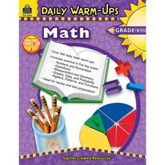 TEACHER CREATED RESOURCES DAILY WARM-UPS MATH GR 6